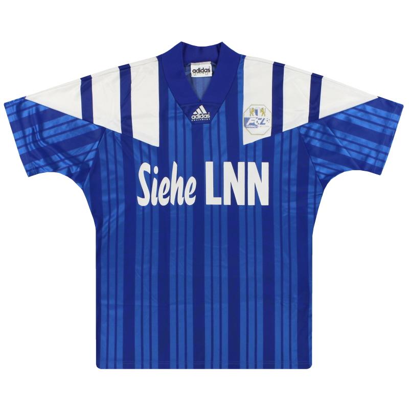 1993-95 FC Luzern adidas Home Shirt L