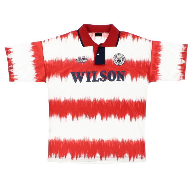 1993-95 Hamilton Academical Home Shirt L