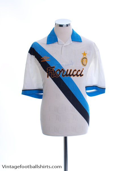1993-95 Inter Milan Away Shirt XL