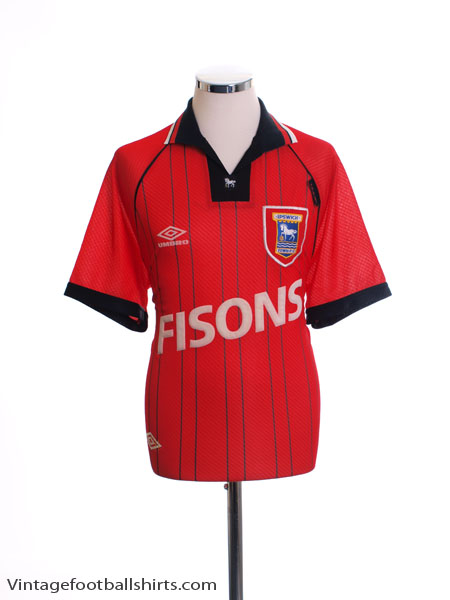1993-95 Ipswich Away Shirt XL