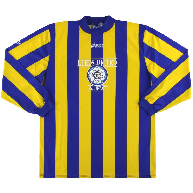 1993-95 Leeds Asics Training Away Shirt L/S *Mint* XL