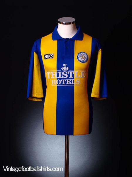 1993-95 Leeds Away Shirt XXL