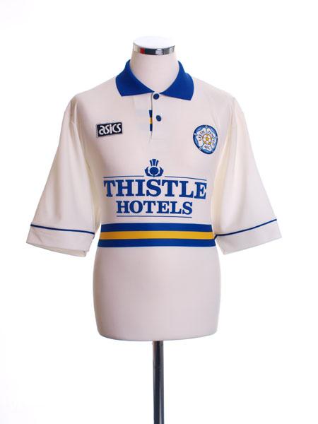1993-95 Leeds Home Shirt L