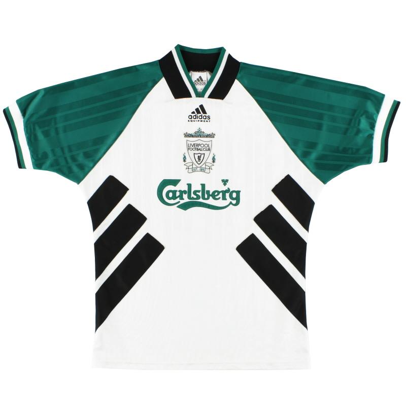 1993-95 Liverpool adidas Away Shirt S