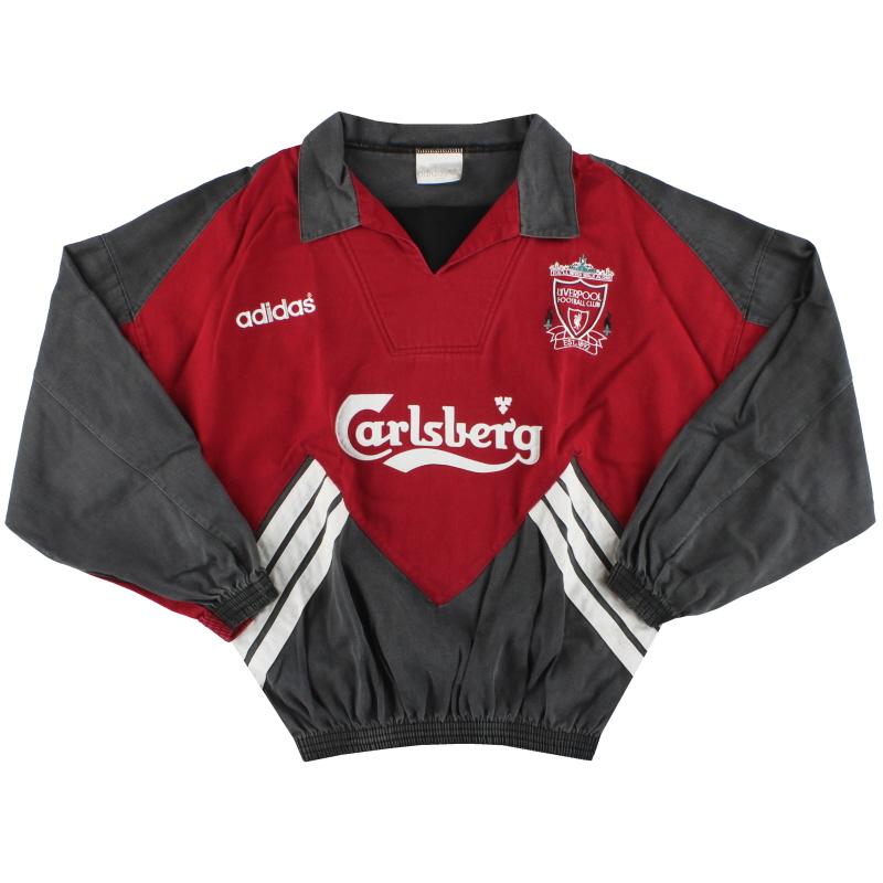 1993-95 Liverpool adidas Drill Top M