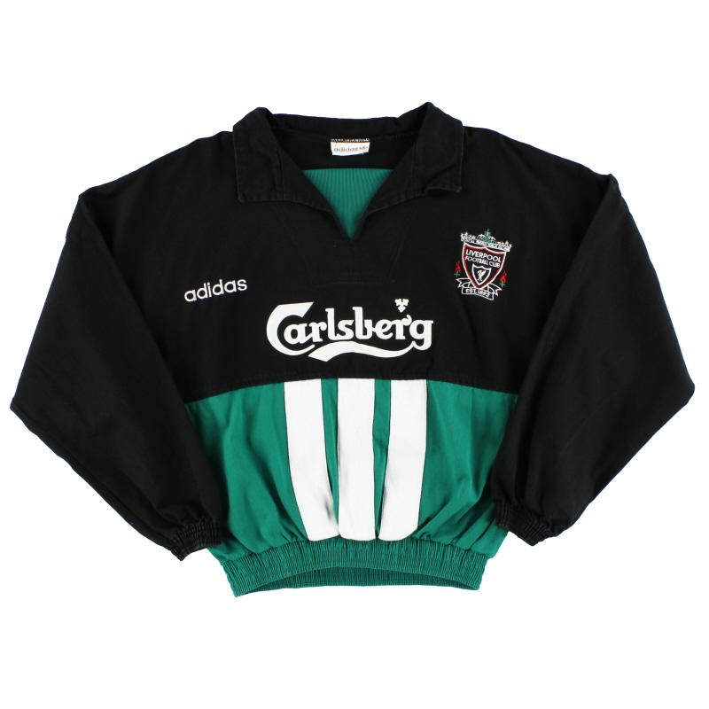 1993-95 Liverpool adidas Drill Top M/L