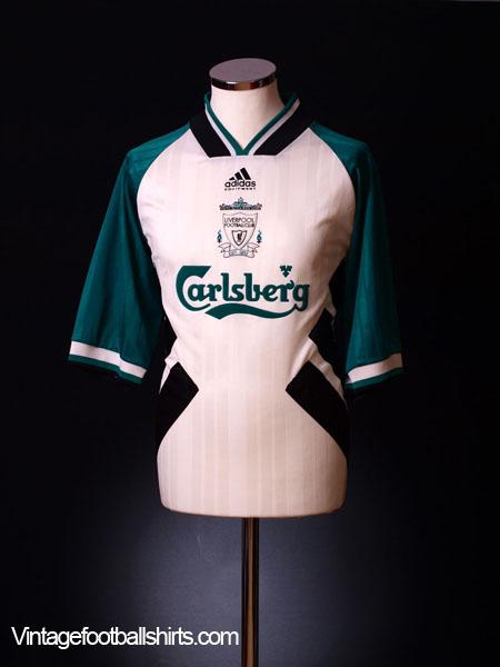 1993-95 Liverpool Away Shirt M