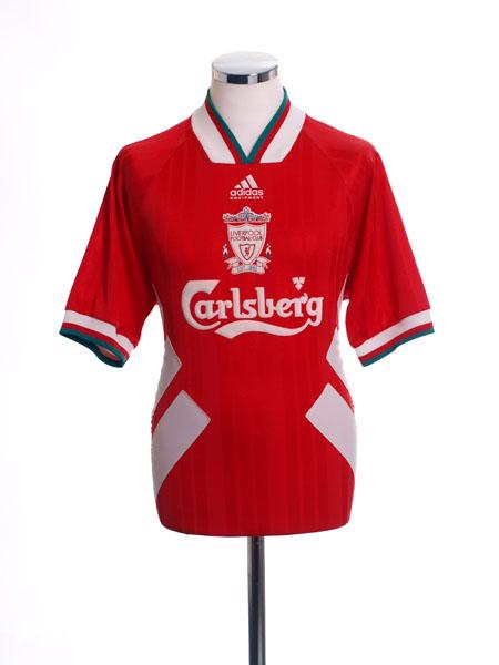 1993-95 Liverpool Home Shirt S