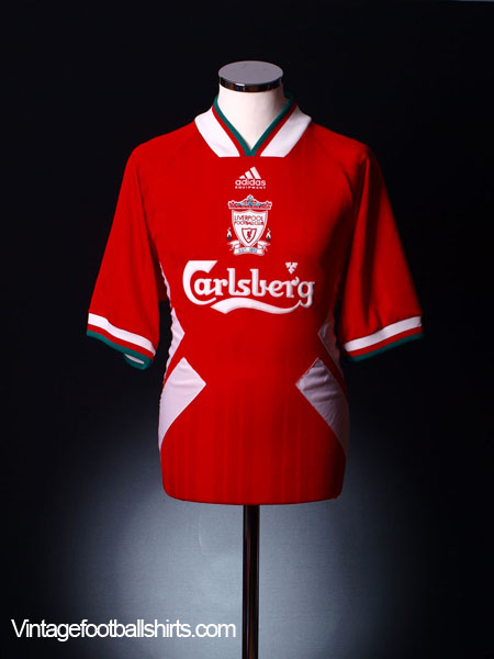1993-95 Liverpool Home Shirt M