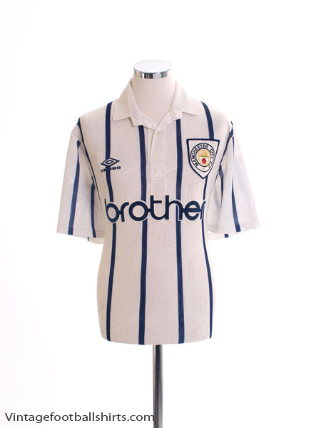 1993-95 Manchester City Third Shirt L