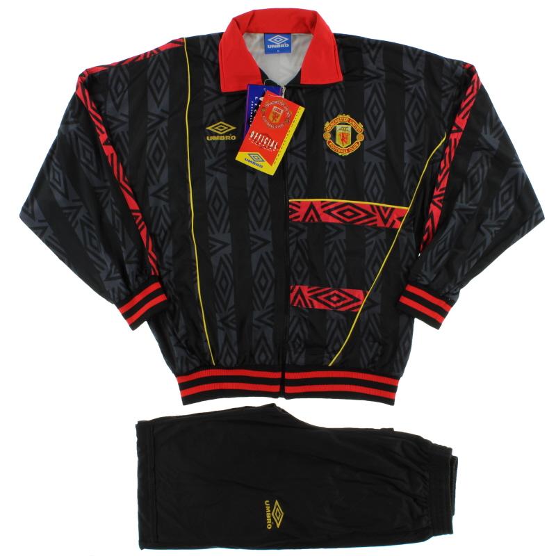 1993-95 Manchester United Umbro Tracksuit *BNIB* - 750975-060