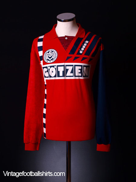 1993-95 MSV Duisburg Away Shirt L/S XL