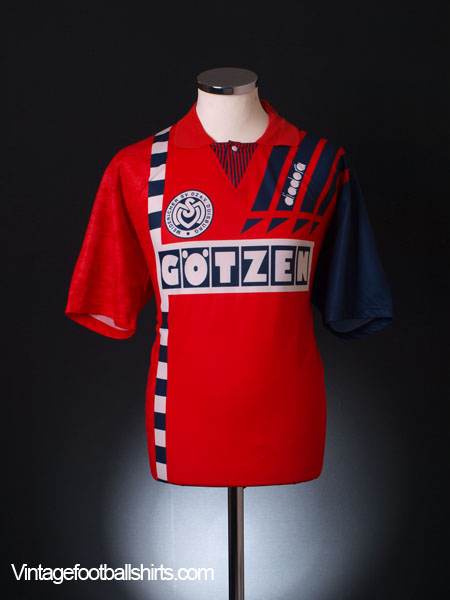 1993-95 MSV Duisburg Away Shirt XL