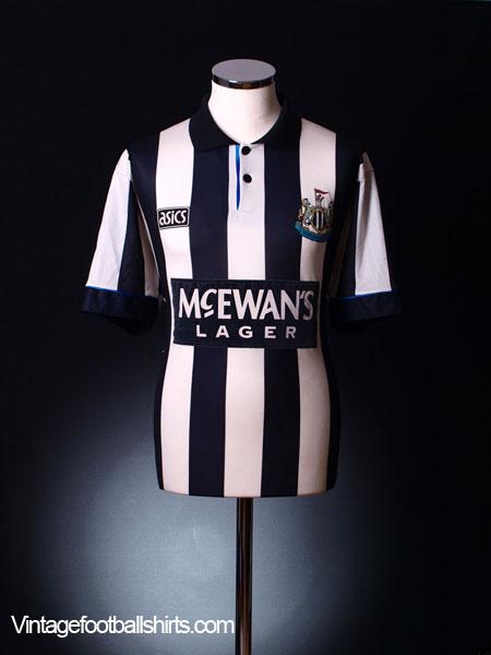 1993-95 Newcastle Home Shirt L.Boys