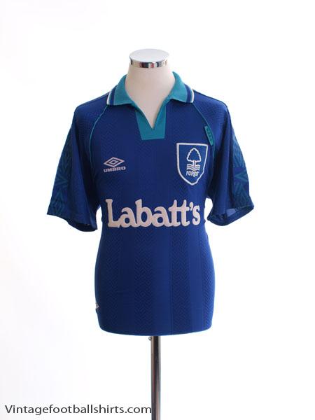 1993-95 Nottingham Forest Away Shirt XL
