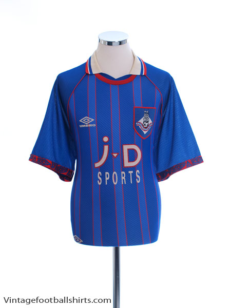1993-95 Oldham Home Shirt L