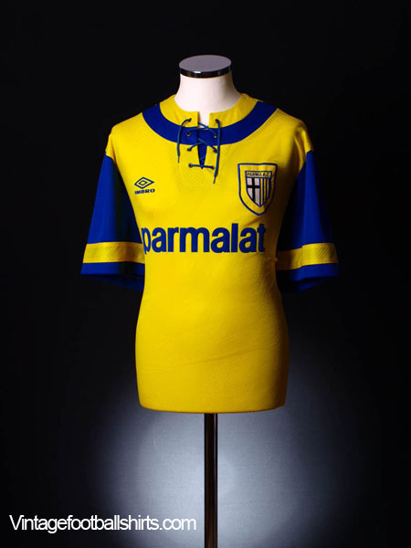 1993-95 Parma Away Shirt *As New* XXL