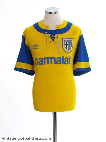 1993-95 Parma Away Shirt M