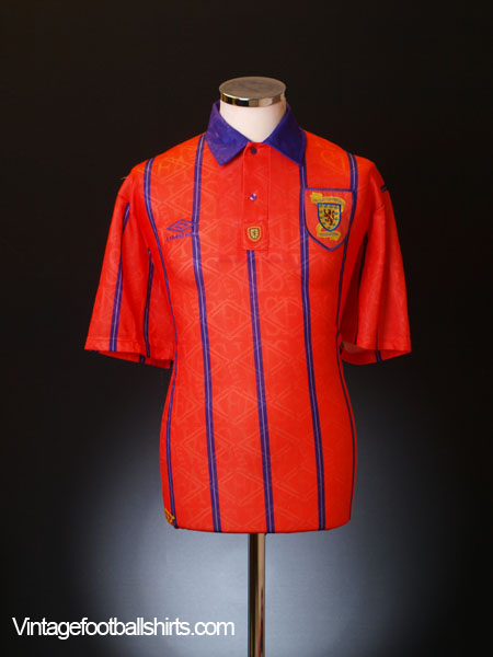 1993-95 Scotland Away Shirt *BNIB* XL
