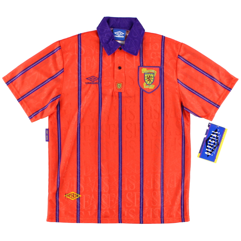 1993-95 Scotland Away Shirt *w/tags* L - 734050