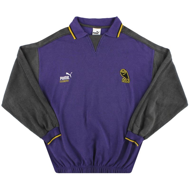 1993-95 Sheffield Wednesday Puma Training Sweat Top L