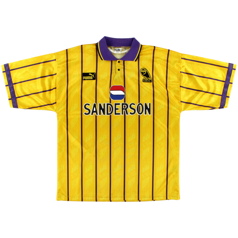 1993-95 Sheffield Wednesday Puma Third Shirt L