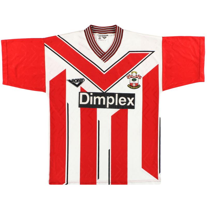1993-95 Southampton Pony Home Shirt M