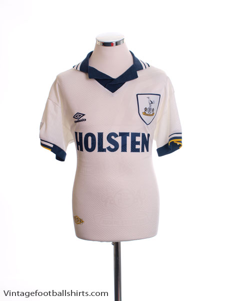 1993-95 Tottenham Home Shirt S