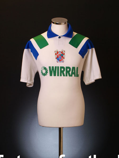 1993-95 Tranmere Rovers Home Shirt L