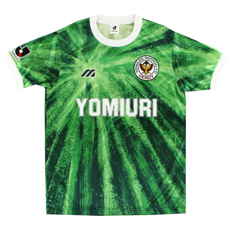 1993-95 Verdy Kawasaki Mizuno Home Shirt L