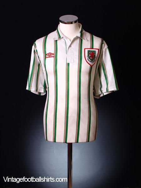 1993-95 Wales Away Shirt XL