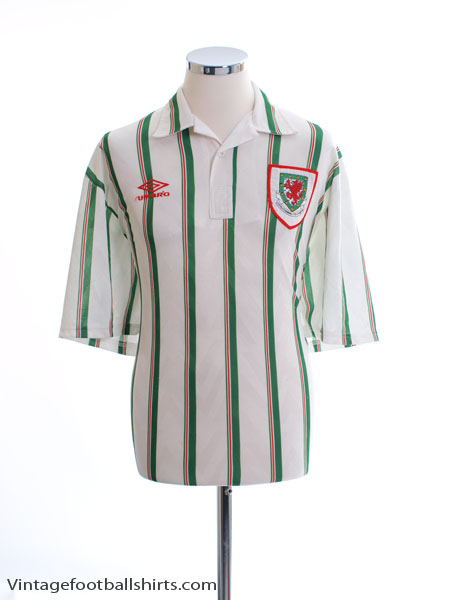 1993-95 Wales Away Shirt XXL