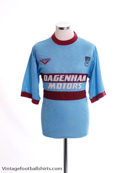 1993-95 West Ham Away Shirt S