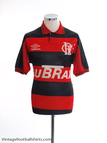 1993 Flamengo Home Shirt #10 L