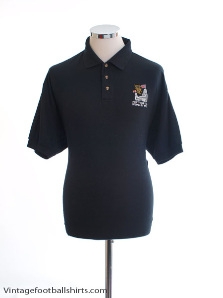 1993 Port Vale 'Wembley' Polo Shirt L