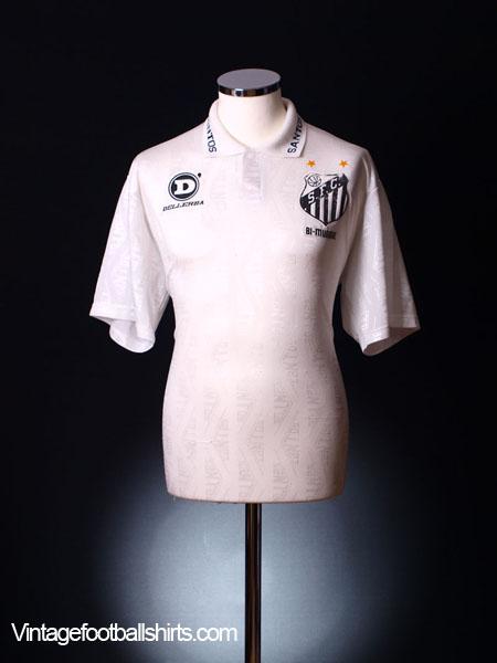 1993 Santos Home Shirt #10 L