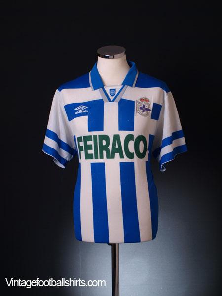 1994-46 Deportivo Home Shirt L