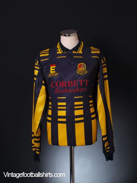 1994-93 Chester Match Issue Away Shirt L/S XL