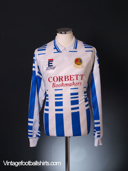 1994-93 Chester Match Issue Home Shirt L/S XL