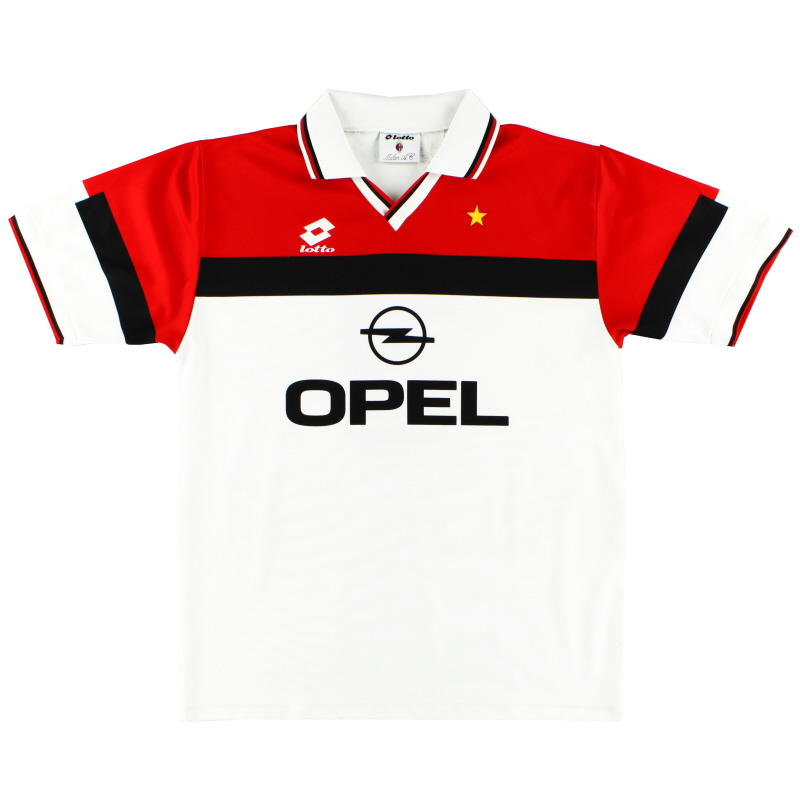 1994-95 AC Milan Away Shirt #3 XL
