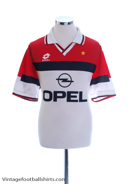 1994-95 AC Milan Away Shirt M