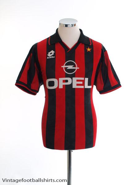 05f43cf08 1994-95 AC Milan Home Shirt M for sale