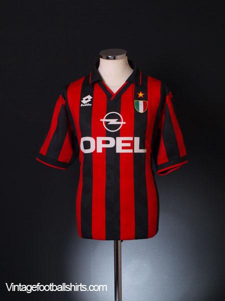 1994-95 AC Milan Home Shirt XL
