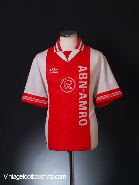 1994-95 Ajax Home Shirt L