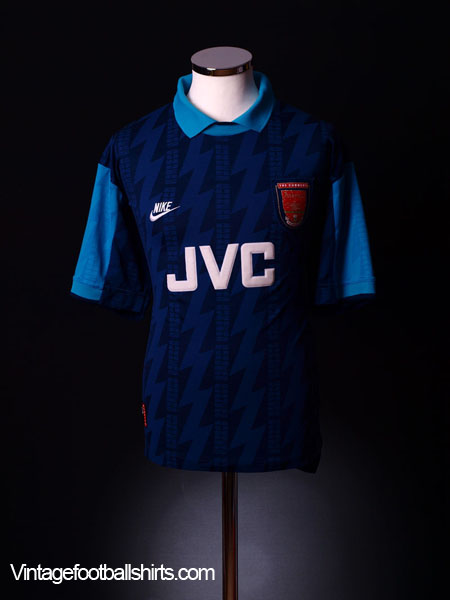 wholesale dealer f01c4 336dd 1994-95 Arsenal Away Shirt Wright  8 S