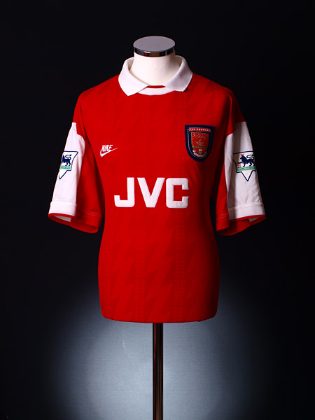 886cec3f9bd 1994-95 Arsenal Match Worn Home Shirt Wright #No8 XL for sale