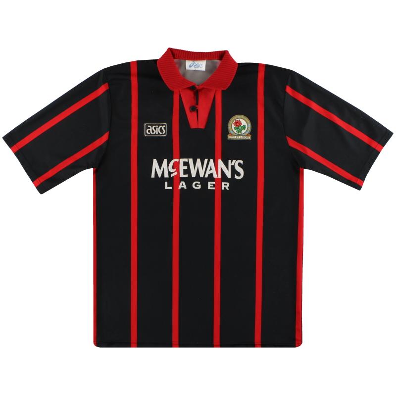 1994-95 Blackburn Asics Away Shirt L