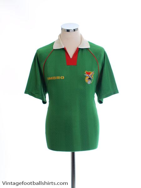 1994-95 Bolivia Home Shirt L