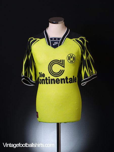 1994-95 Borussia Dortmund Home Shirt M