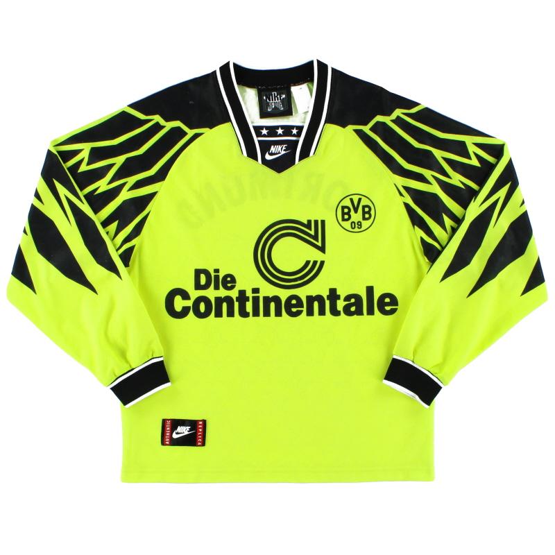 1994-95 Borussia Dortmund Home Shirt L/S S